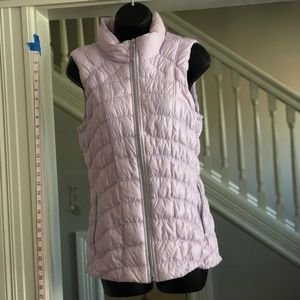 BEAUTIFUL Lilac Puffer Vest